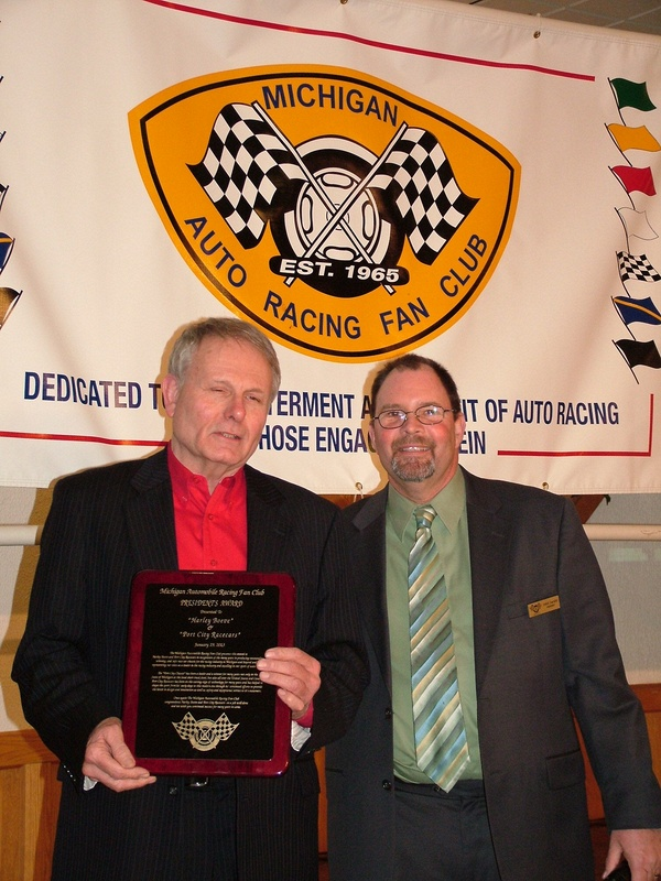MARFC Presidents Award - Harley Boeve - Port City Racing