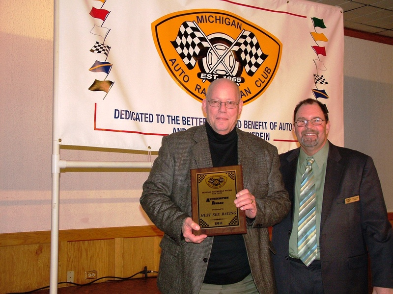 Appreciation Award - Jim Hanks - Must See Racing