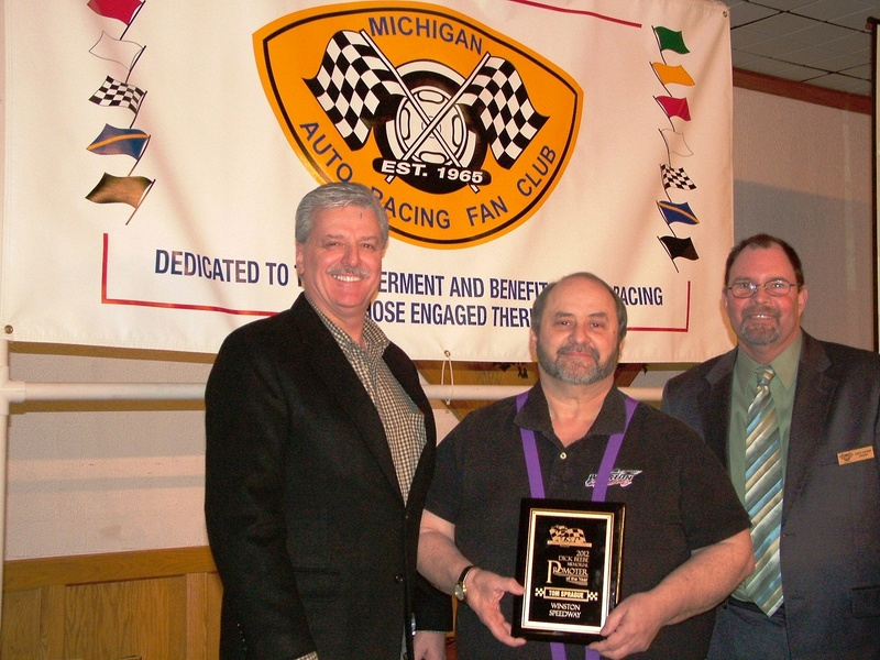 MSPA Promoter of the Year - Tom Sprague - Winston Speedway